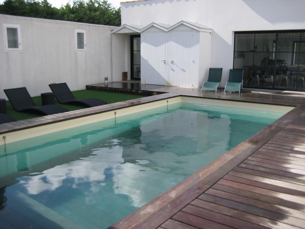 Une piscine qui vous fait rester zen