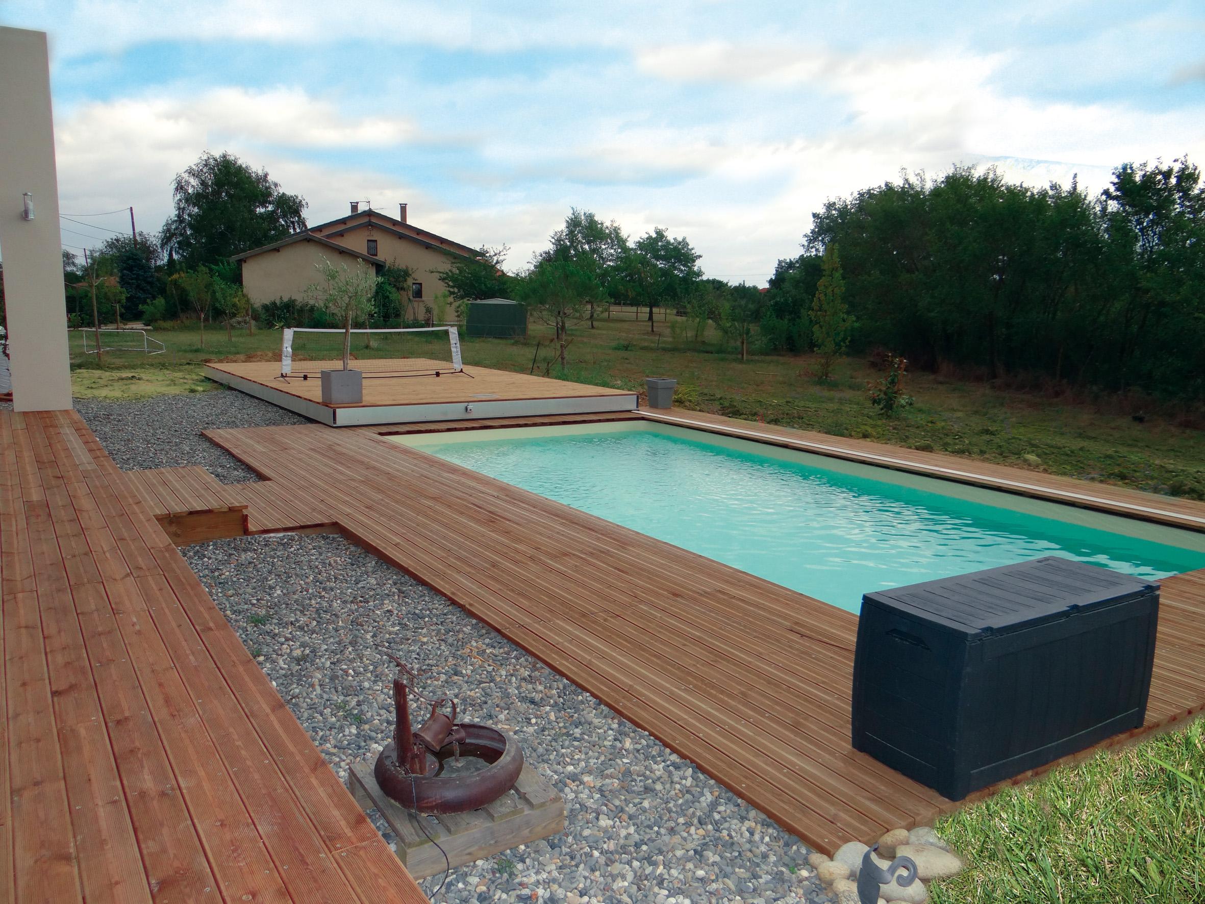 Terrasse Coulissante Fond Mobile Pour Piscine Hidden Pool Fond