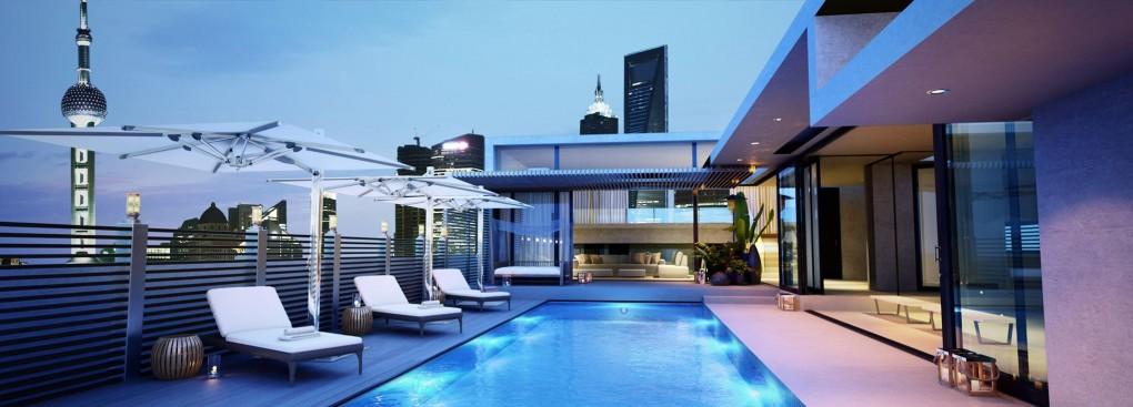 Une piscine esthétique