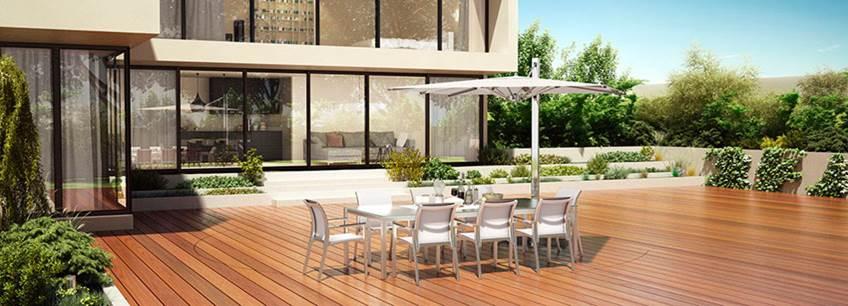 Piscine terrasse mobile