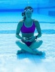Yoga en piscine mobile